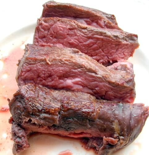 A steak full of flavor & tenderness...thanks to slow cooking!