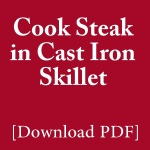 how-to-cook-steak-in-cast-iron-skillet-pdf-guide