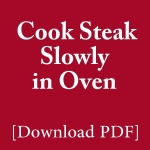 how-to-cook-steak-slowly-in-oven-pdf-guide