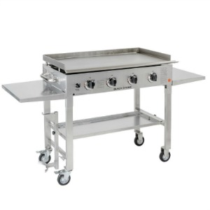 Blackstone-Stainless-Steel-Outdoor-Flat-Top-Gas-Grill